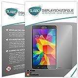 Slabo 2 x Protector de Pantalla para Samsung Galaxy Tab 4 7.0 SM-T230 lámina Protectora de Pantalla No Reflexion | No Reflexiones Mate