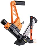 Freeman PDX50C Lightweight Pneumatic 3-in-1 15.5-Gauge and 16-Gauge 2' Flooring Nailer and Stapler Ergonomic and...