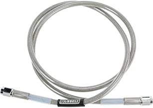 Russell Universal Braided Stainless Steel Brake Line - 42in R58152S