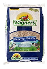 Our best mix to attract the greatest variety of colorful songbirds A gourmet blend with 11 different ingredients including 40% sunflower Can be fed in a tube, hopper, or platform feeders Highest quality grains used in blending Made in the USA