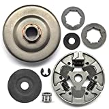 NEO-TEC Chainsaw Clutch Drum Rim Sprocket Kit 3/8-7T & 404-7T Fit for Stihl Chain Saw 066 MS660 MS650 064 G660 with Clutch 1122 160 2002 Washer Needle Bearing 1122 007 1000