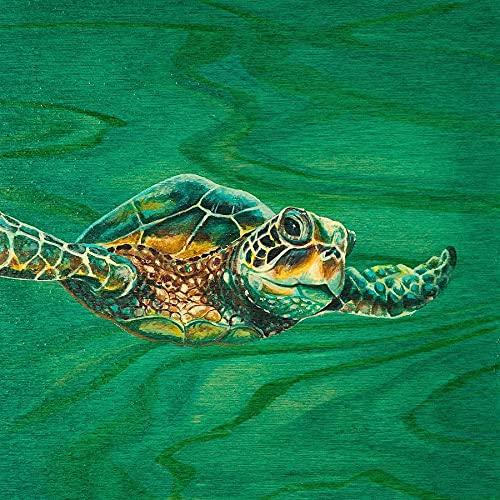 Diamond Painting Sea Turtle Cross Stitch Diamond Mosaic Animal Full Round Embroidery Picture of Rhinestone Wall Art A2 45x60cm