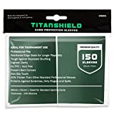TitanShield (150 Sleeves/Green) Standard Size Board Game Trading Card Sleeves Deck Protector