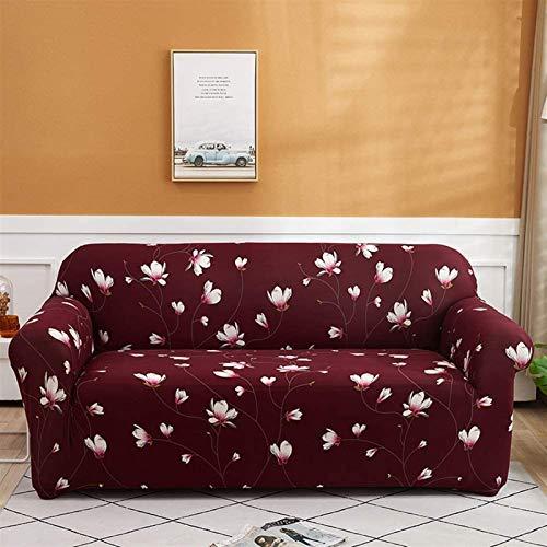 Cubierta de sofá comprar uno obtener uno gratis Cubierta de sofá de estiramiento impreso, protector de muebles de sofá de 1 pieza, protector, cubierta de sofá seccional de forma L para 1 2 3 4 sofá de