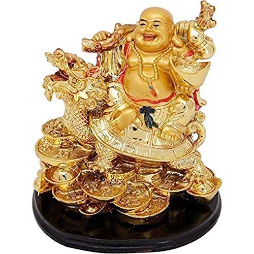 Burning desire Bouddha rieur sur dragon pour enlever la malc