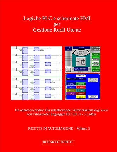 Logiche PLC e schermate HMI per Gestione Ruoli Utente: Un...