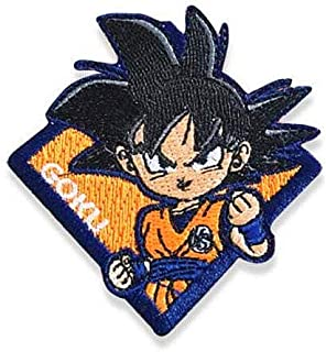 Dragon Ball Z Goku Military Hook Loop Tactics Morale Embroidered Patch