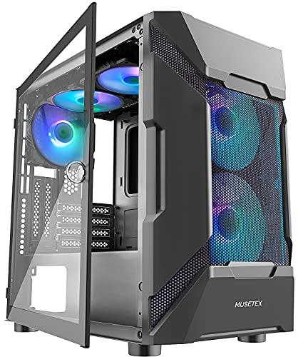 MUSETEX Mesh Micro-ATX Case