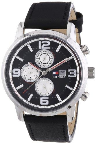 Tommy Hilfiger 1710335 - Reloj de Cuarzo para Hombre, Correa de Cuero...