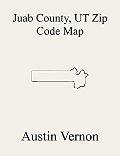 Juab County, Utah Zip Code Map: Includes Nephi, Eureka, and West Juab (English Edition)
