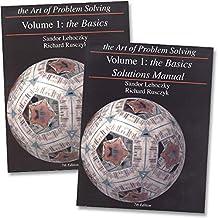NEW - Art of Problem Solving: Volume 1 Text & Solutions Books Set (2 Books) - Volume 1 Text & Volume 1 Solutions Manual