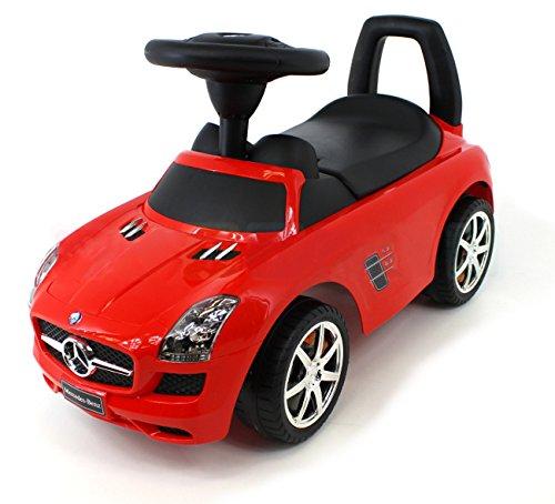 Mercedes-Benz SLS AMG Rutschauto Rutscher Kinderfahrzeug Kinderauto Lizenz NEU&OVP (rot)