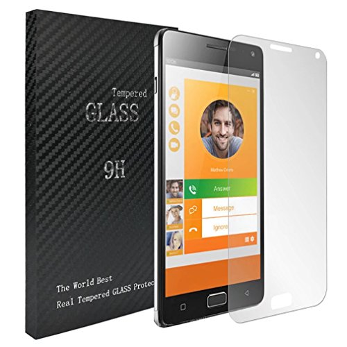 Laybomo für Lenovo Vibe P1 Schutzfolie 9H Festigkeit Tempered Glass Bildschirmschutzfolie 99prozent Ultra-klar Panzerglas Folie Schutzfolie