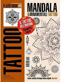 Mandalas & Ornamental Tattoo Flash Geometrical Design Book 64-Pages