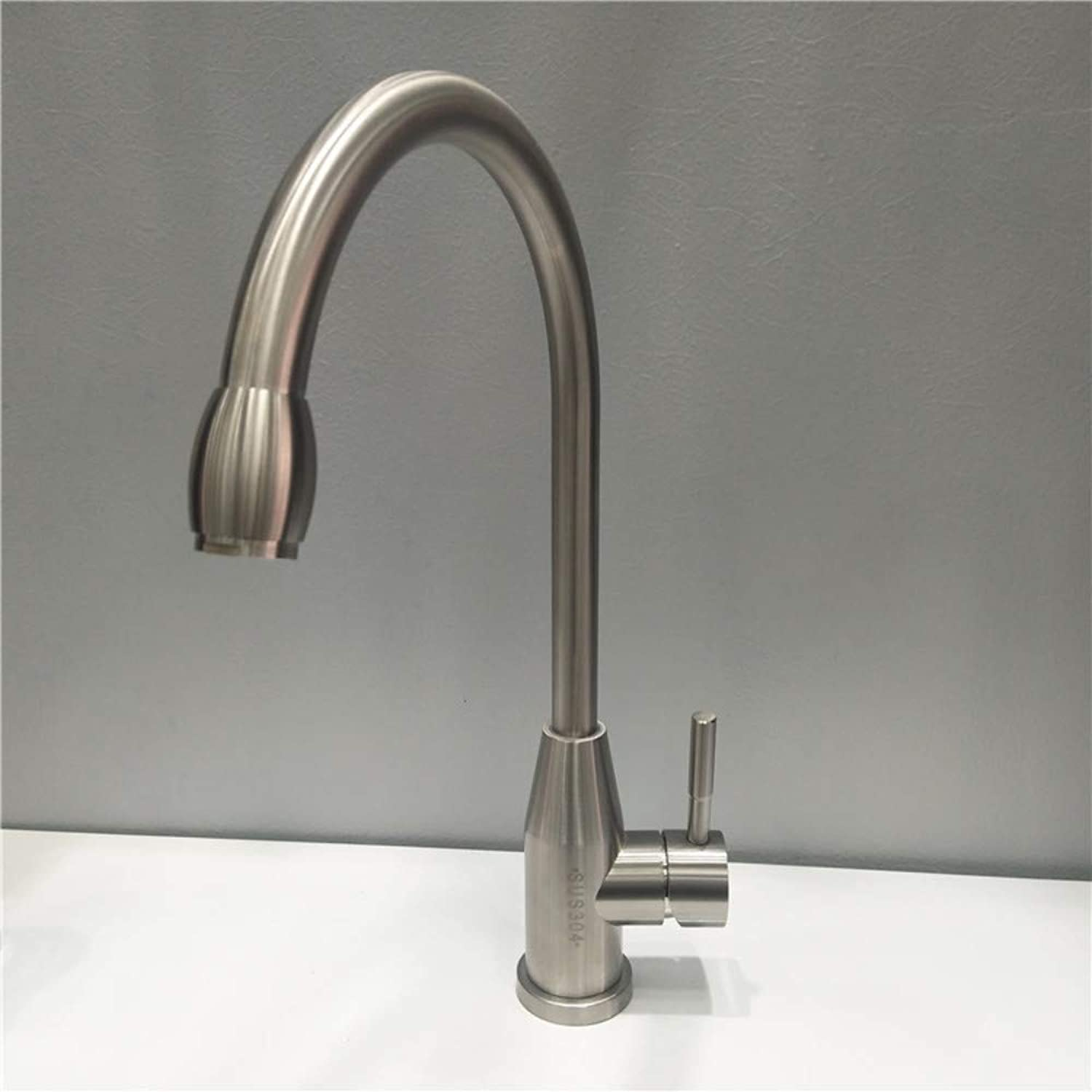 XPYFaucet Kitchen Sink Faucet Sink Hot And Cold Single Hole Mixing Valve