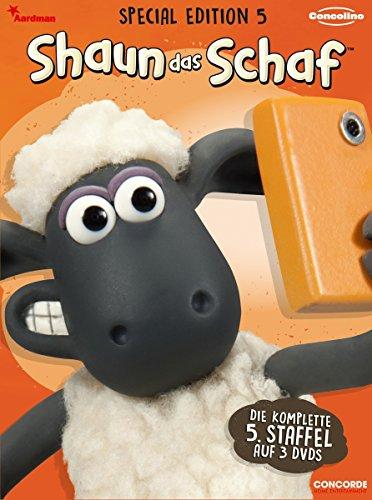 Shaun das Schaf - Special Edition 5 (im hochwertigen Digipack) [3 DVDs]