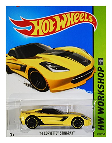 Hot Wheels 2015 HW Workshop \'14 Corvette Stingray 233/250, Yellow