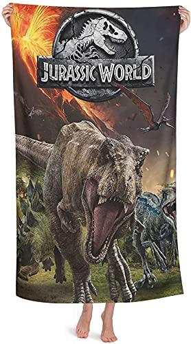 Jurassic Park - Toalla de playa (1,70 x 140 cm), diseño de dinosaurios