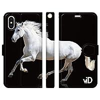 ブレインズ iPhone 11 Pro 手帳型 ケース カバー サラブレッド F 競馬 競走馬 乗馬 カッコいい JC
