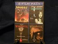 4- Film Pack (Pumpkinhead 2: Blood Wings / Leprechaun/ Wishmaster / Wishmaster 2)