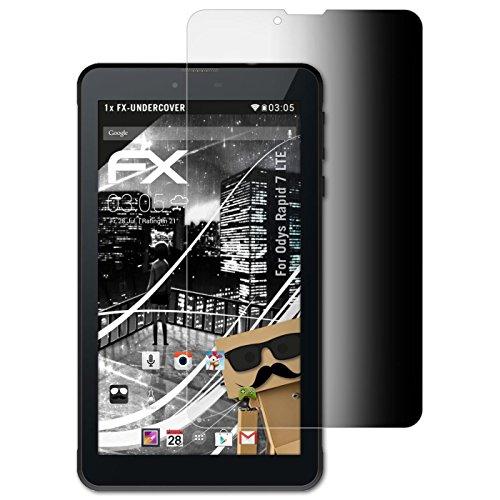 atFolix Blickschutzfilter kompatibel mit Odys Rapid 7 LTE Blickschutzfolie, 4-Wege Sichtschutz FX Schutzfolie