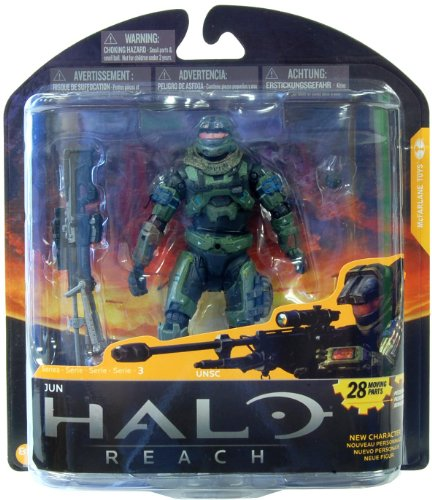 McFarlane Toys Action Figure - Halo Reach Series 3 - JUN (OLIVE)