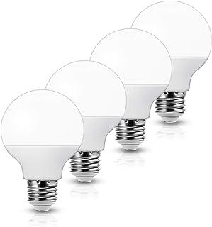 ロハス LED電球 E26口金 ボール電球形 60W形相当 昼白色 750lm G70(70mm径) 全方向タイプ 密閉形器具対応 4個入