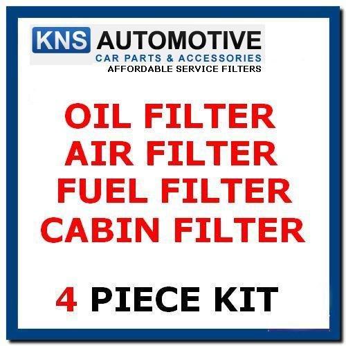 XC90 2.4 D5 Diesel 06–13 à l'huile, Air, carburant et cabine filtre kit d'entretien Vol7 C