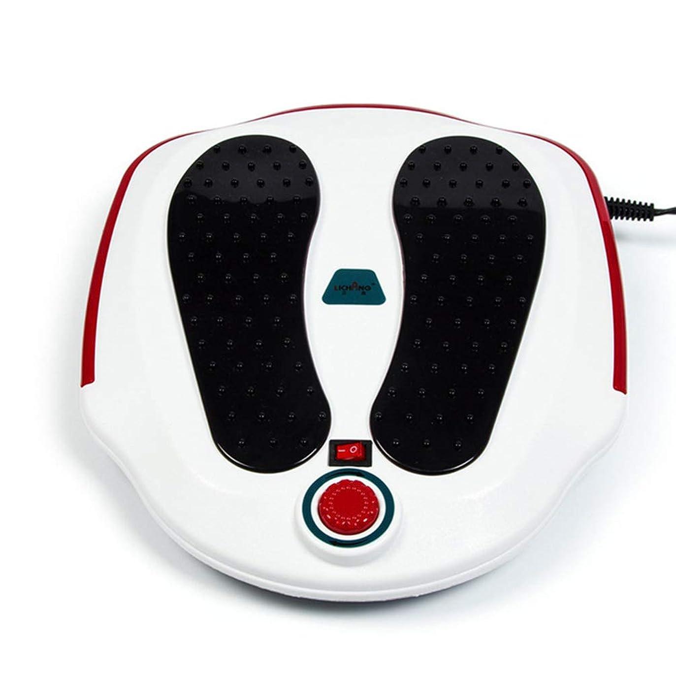 指令再開繊毛電気の フットマッサージャー、フルフットマッサージエクスペリエンス用ABS素材、循環系の改善、硬い筋肉の柔らかさ、痛みの緩和治療。 人間工学的デザイン