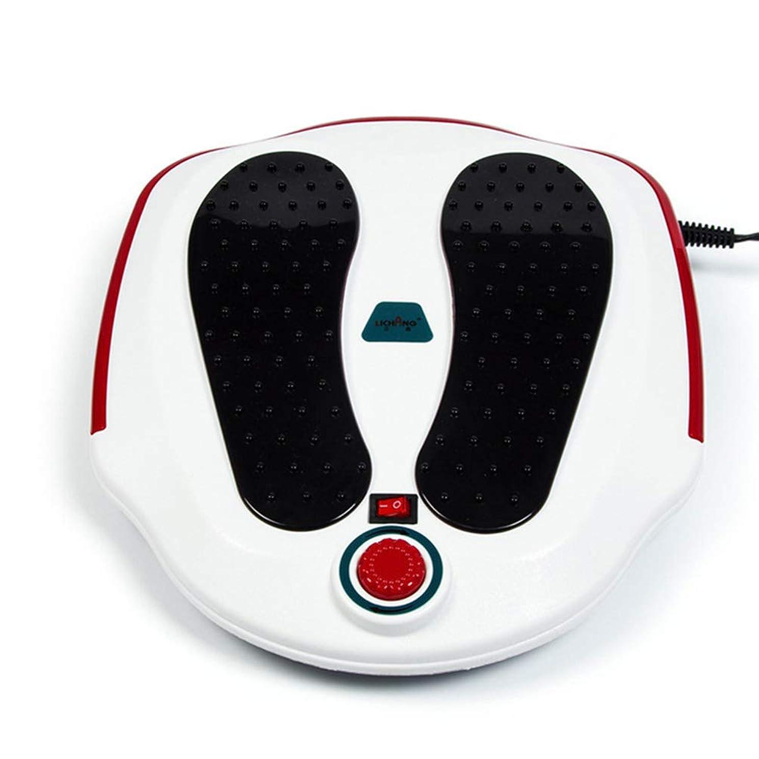 オレンジハシービルマ電気の フットマッサージャー、フルフットマッサージエクスペリエンス用ABS素材、循環系の改善、硬い筋肉の柔らかさ、痛みの緩和治療。 人間工学的デザイン