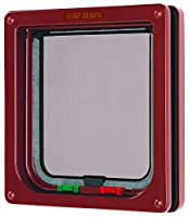 For doors having thin panels or door sections Sliding interlock which cannot be manipulated With sturdy, transparent polymer flap Draught-free weather-resistant seals With magnet lock