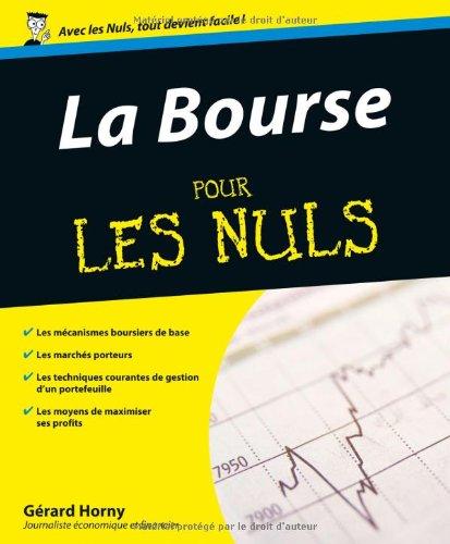 BOURSE POUR LES NULS