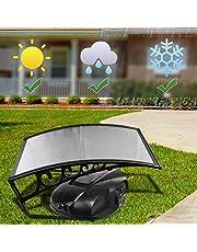 Hengda Toit de Garage 105x85x45cm Couverture de Garage Polycarbonate pour tondeuse à Gazon Robot Carport pour Les tondeuses à Gazon robotisées Résistant aux UV et aux intempéries