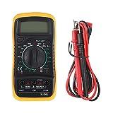 Multímetro De Mano Multímetro Luminoso Pantalla LCD Digital Durable Resistente A Caídas Multímetro De Alta Precisión Para Electricista