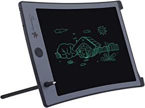 LCD Writing Tablet, Electronic Drawing Board and Doodle Board Gifts for Kids at Home and School (Black)