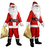 Halco Holidays Men's Completede Santa Suit Costume, X-Large