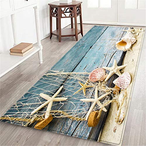 For Sale! Xisheep Floor Rug,60X180 cm Carpet Hallway Doormat Anti - Slip Carpet Absorb Water Kitchen...