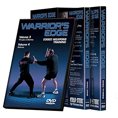 Cold Steel VDWEP Training DVD, Warrior's Edge Set from Cold Steel