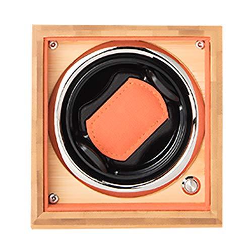 Reloj Winder Reloj Windoer - Reloj individual Caja de enrollamiento Reloj automático Shaker Mecanical Watch TurnTable Wobble Wobble Wokball Dispositivo de almacenamiento Funda de almacenamiento Organi