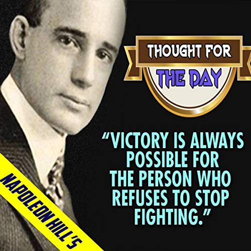 Napoleon Hill's Thought for the Day cover art