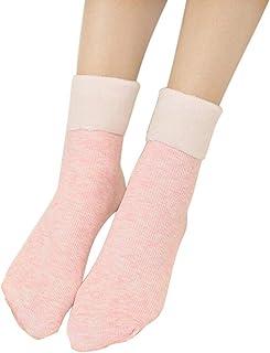 Caliente De La Mujer Skate Calcetines Piso Vertical Rayas Calcetín Nieve Más Engrosamiento Tobilleros Antideslizantes