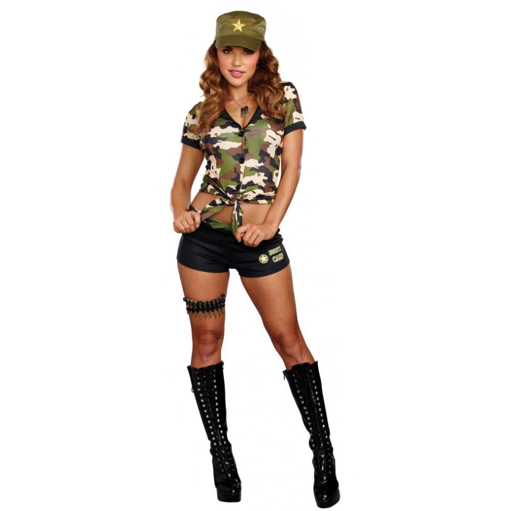 Premium Bodywear AG Disfraz de ejército Boot Camp Chica Longshirt ...