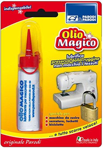 Schmiermittel für Schlösser und Vorhängeschlösser OIL MAGIC, Anti-Rost-Öl für Getriebeschmiermittel für Schlösser und Vorhängeschlösser 25 ml, Schmierölfleck Schlösser Art. 339 Parodi
