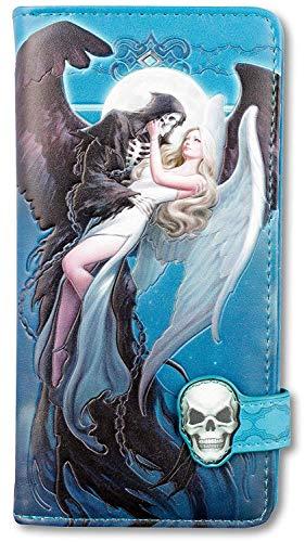 Fantasy-Geldbörse mit Engel und Sensenmann - Angel and The Reaper - geprägt | Geldbeutel, Mehrfarbig by James Ryman