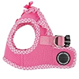 Puppia Authentic Vivien Vest Harness B, X-Small, Pink