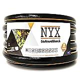 Gartenschlauch 1' NYX Premium 10 Jahre Garantie 4 lagig Wasserschlauch Bewässerungsschlauch schwarz/orange (50)