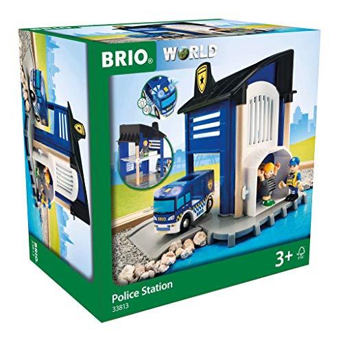 BRIO Bahn 33813 - Polizeistation mit Einsatzfahrzeug
