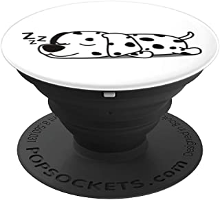 Cute Funny Sleeping Dalmatian Dog Puppy Animal Design Gift - PopSockets Grip and Stand for Phones and Tablets