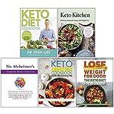 Keto Diet Cookbook, Keto Kitchen, No Alzheimer's Smarter Brain Keto Solution, The Keto Crock Pot Cookbook for Beginners, The Keto Diet for Beginners 5 Books Collection Set