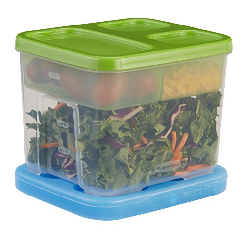 Rubbermaid LunchBlox Salad Kit ,Green